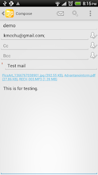 Mobile Access For Outlook OWA APK screenshot thumbnail 5