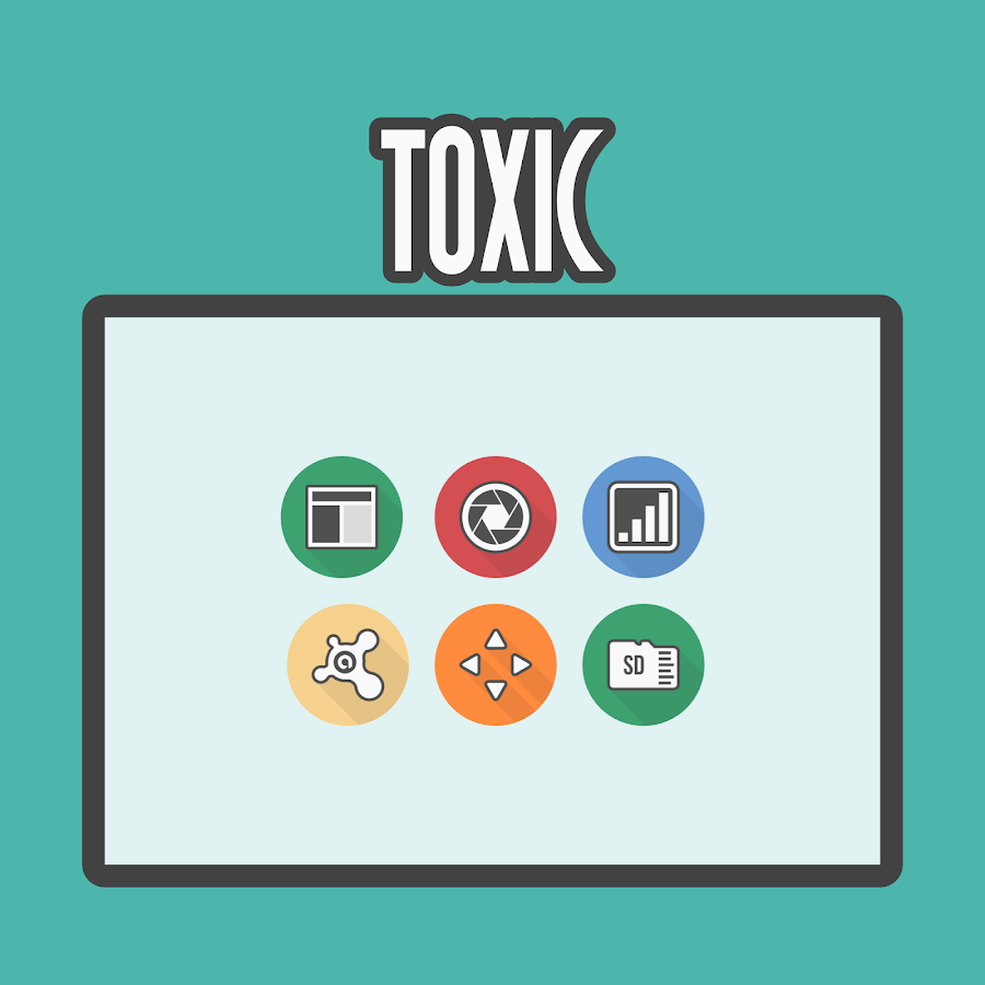 Toxic - Icon Pack Screenshot 8
