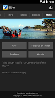 Screenshot of Bible Society South Pacific
