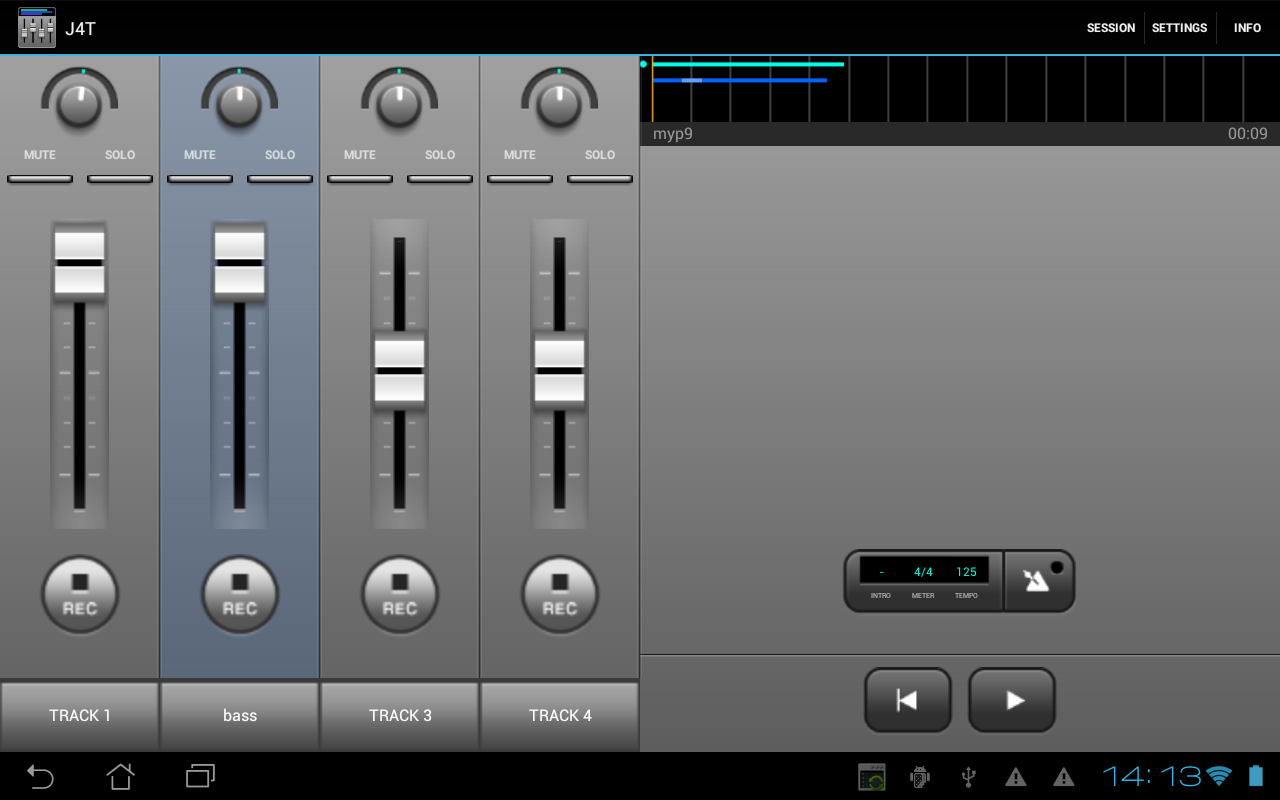 J4T Multitrack Recorder Screenshot 6