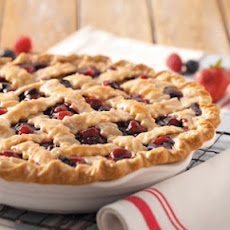 Ozark Mountain Berry Pie Recipe