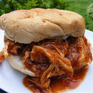 Zesty Slow Cooker Chicken Barbeque