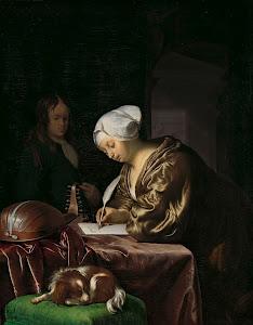 RIJKS: Frans van Mieris (I): The Letter Writer 1680