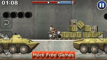 Screenshot of Desert Motocross Free