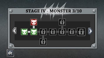 Screenshot of Monster Dungeon Free Card Game