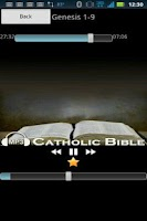 Screenshot of Audio Catholic Bible