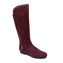 Step2wo Anais - Scalloped Suede Boot BOOT