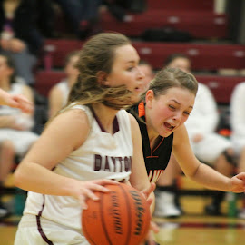 Can't Catch Up by Andrea Smith Troutman - Sports & Fitness Basketball ( basketball, ball, dayton pirates, offense, high school basketball,  )