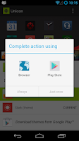 Screenshot of Unicon (formerly Icon Themer)