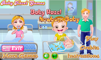 Screenshot of Baby Hazel Newborn Baby