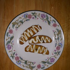Pumpkin Biscotti With White Chocolate