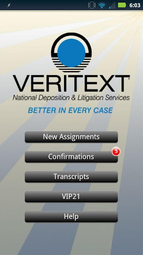Veritext: Mobile Deposition