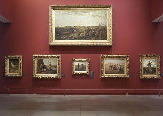 """En 2013, ce sont les salles latérales du rez-de-chaussée qui sont rénovées, et baptisées salles """"Luxembourg"""". Cet intitulé fait référence à l'ancien musée du Luxembourg, à l'origine des collections du musée d'Orsay."""