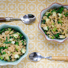 Easy Green Quinoa Salad