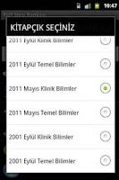 Screenshot of TUS Soru Bankası