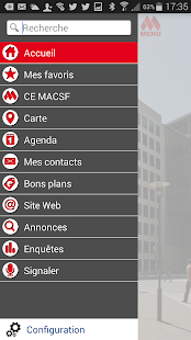 CE MACSF - screenshot
