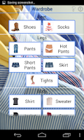 Screenshot of Outfit Generator