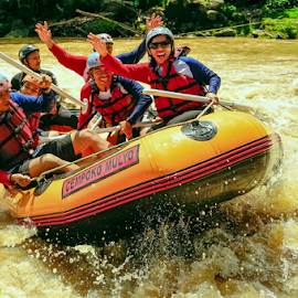 Rodeo Rafting by OC Andoko - Sports & Fitness Watersports ( watersport, adventure, waterrodeo, fun, river )
