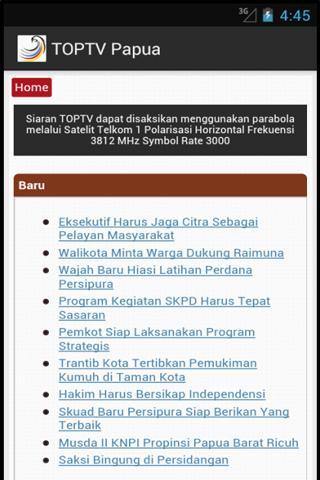 TOPTV Papua
