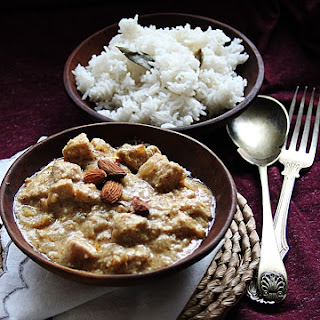 Chicken, Almond Korma