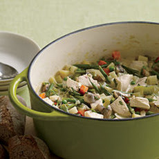 French Spring Chicken Pot