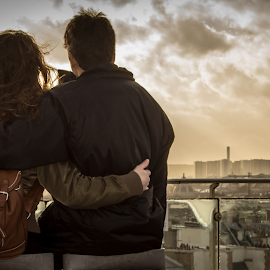 We'll always have Paris by Fábio Pereira - People Couples ( love, eiffel tower, paris, skyline, couple )