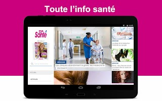 Screenshot of Top Santé