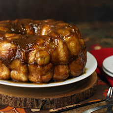 Caramel Temptation Bananas Foster Monkey Bread