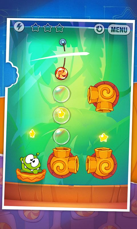 Cut the Rope: Experiments FREE Screenshot 0