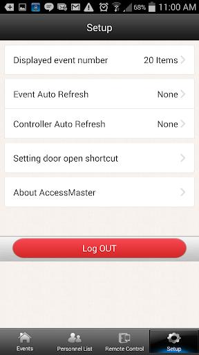 Access Master - screenshot