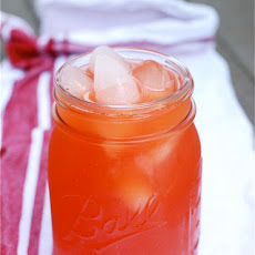 Roasted Strawberry Lemonade