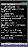 Screenshot of Procedury medyczne PSP i KSRG
