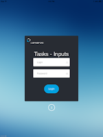 Screenshot of Conservis Tasks - Inputs