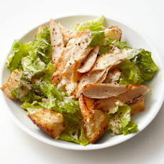 Light Chicken Caesar Salad