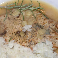 Nitko's Chicken Schnitzel With Sage, Rosemary and Garlic