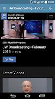 Screenshot of JW Podcast (english)