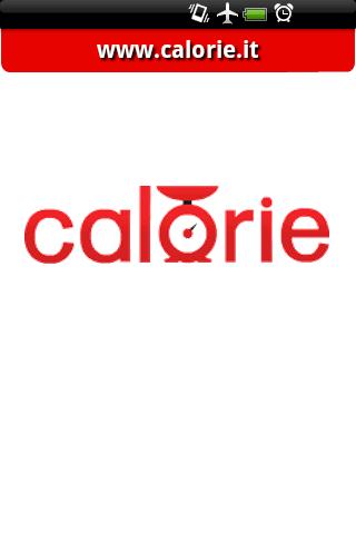 Calorie.it mobile 0.1a