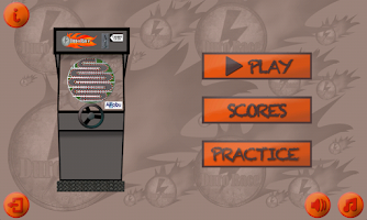 Screenshot of Duro Race Arcade Game