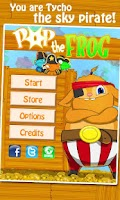 Screenshot of Pop the Frog