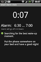 Screenshot of Smart Alarm Clock
