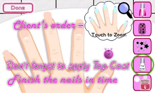 Game a list girl nail salon apk for windows phone for A list nail salon game