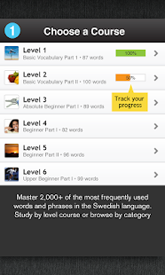 Learn Swedish Free WordPower - screenshot