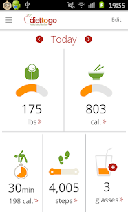 Diet-to-Go: Weight Loss Tools - screenshot