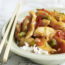 Sweet & Sour Chicken & Veg
