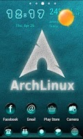 Screenshot of Cyanobot Go Launcher Theme