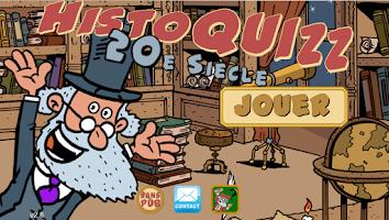 Screenshot of HistoQuizz - histoire du XXe S