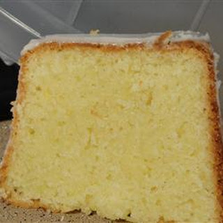 Buttermilk Pound Cake II
