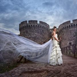 bride by Dejan Nikolic Fotograf Krusevac - Wedding Bride ( vencanje, wedding, kalemegdan, beograd, svadba )