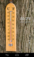 Screenshot of Thermometer (+ Status Bar)