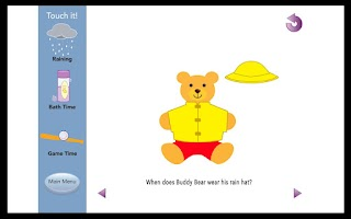 Screenshot of Autism Basic Questions Lite